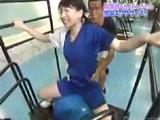大橋未歩◆恥ずかしい騎乗位エクササイズ